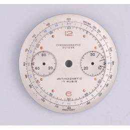 Cadran de chronographe Landeron 48  32.4mm