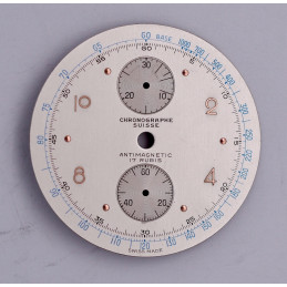 Dial for chronograph Venus 170, diameter 34.4mm