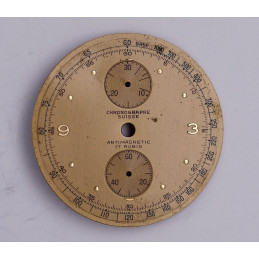 Dial for chronograph Venus 170, diameter 34.4mm