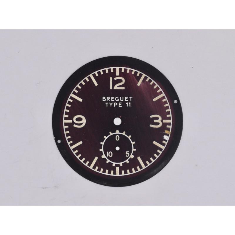 Breguet Type 11 dial