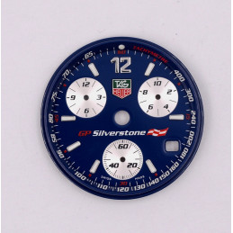 Tag Heuer GP Silverstone dial