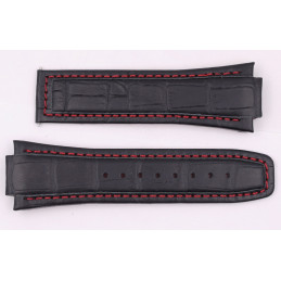 ALPINA leather and tissue band 22mm
