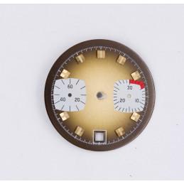 Cadran de chronographe pour valjoux 7734 diam 29,80m