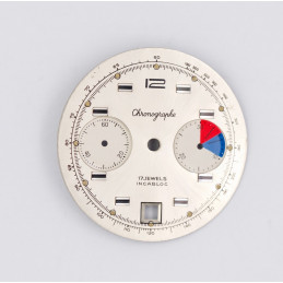 Cadran de chronographe pour valjoux 7734 diam 31,5mm