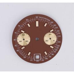 Cadran de chronographe pour valjoux 7734 diam 30mm