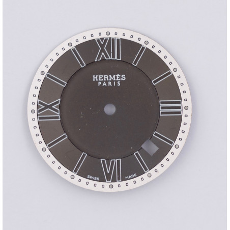 HERMES black dial 30,30mm