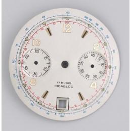 Valjoux 7734 chronograph dial diameter 31mm