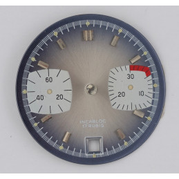 Cadran de chronographe pour valjoux 7734 diam 29.5mm