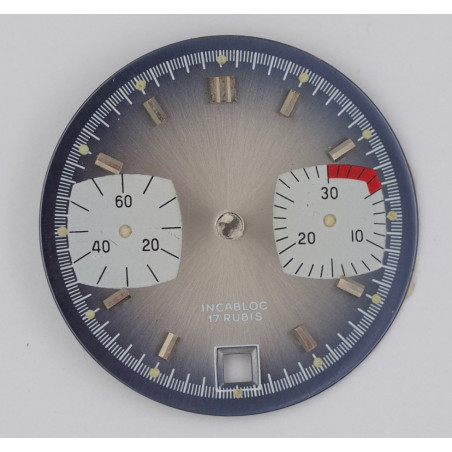 Valjoux 7734 chronograph dial diameter 29.5mm