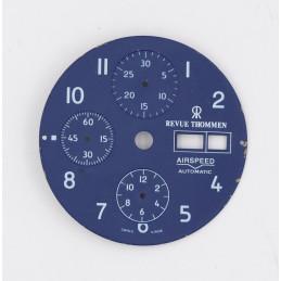 Cadran de chrono Revue Thommen 30,20mm