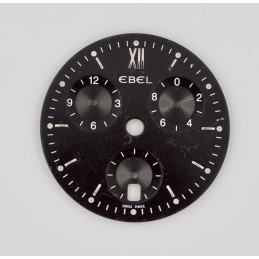 Ebel cadran de chronographe 29,60mm