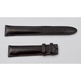 Bracelet Montblanc cuir noir 19 mm