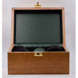 Wooden watch box for ten watches