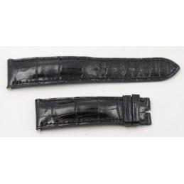 Bracelet croco CORUM 21 mm doublé croco