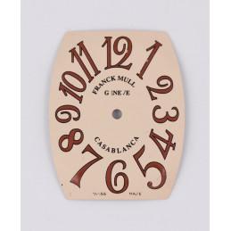 FRANCK MULLER Casablanca dial