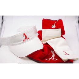 cap and towel Omega golf