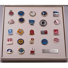 pins jeux olympiques beijing omega serie limitee