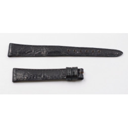 Rolex Lether black strap 13mm