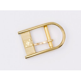 Eterna gold plated buckle 10 mm