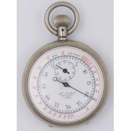 silver chronometer mechanical