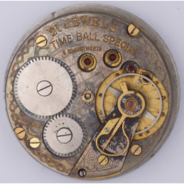 Pocket watch movement 38 mm time ball special