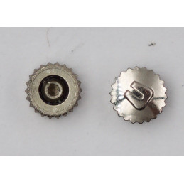 universal genève steel crown 4 mm