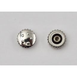Couronne acier ETERNA 4 mm