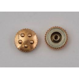 Couronne ETERNA or rose 18 kt 4,5 mm
