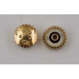 Couronne ETERNA or jaune 14 kt 4,5 mm