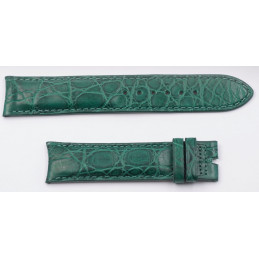 bracelet croco Universal Geneve 19 mm