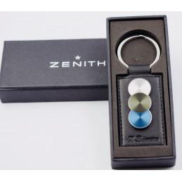 Zenith lether El Primero key ring