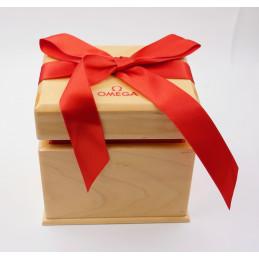 OMEGA wood box