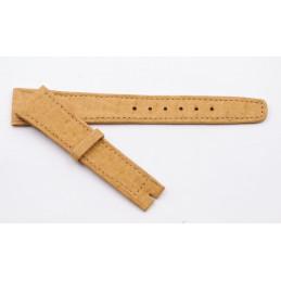 Omega, vintage lether strap 18 mm