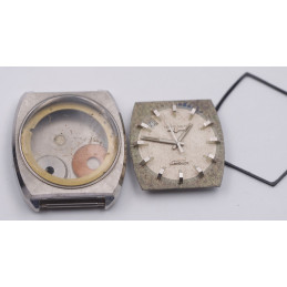 Boitier acier LONGINES  ultra-quartz