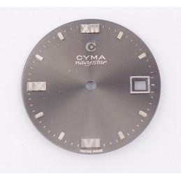 Cyma Navystar dial diameter 28.50mm