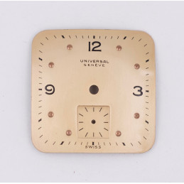 Universal Genève square dial