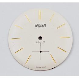 Gruen dial diameter 30,60mm