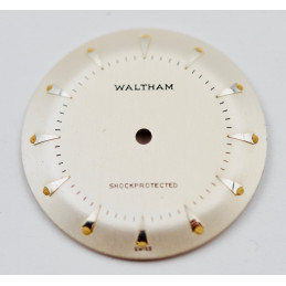 Waltham dial diameter 27,50mm