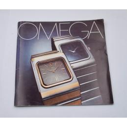 Original Omega watches 1974 catalog