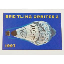 Breitling Orbiter 2 stamps board 1997