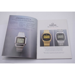Original Omega watches 1980 catalog