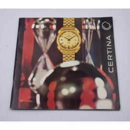 Original favre-leuba watches catalog circa 1970