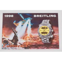 Breitling Emergency stamps board 1998