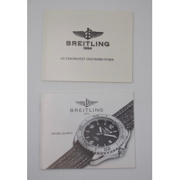 Breitling booklet for Chrono Colt Automatic circa 1990