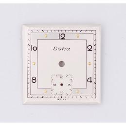 Cadran Eska carré 24mm
