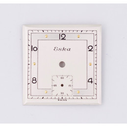 Eska square dial 24mm
