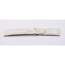 Bracelet POIRAY en autruche avec boucle déployante