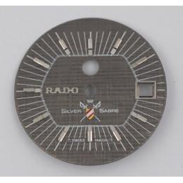RADO Silver Sabre dial