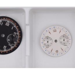 rare cadran pour petit chronographe 23mm