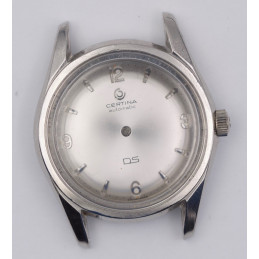 CERTINA DS stainless steel case